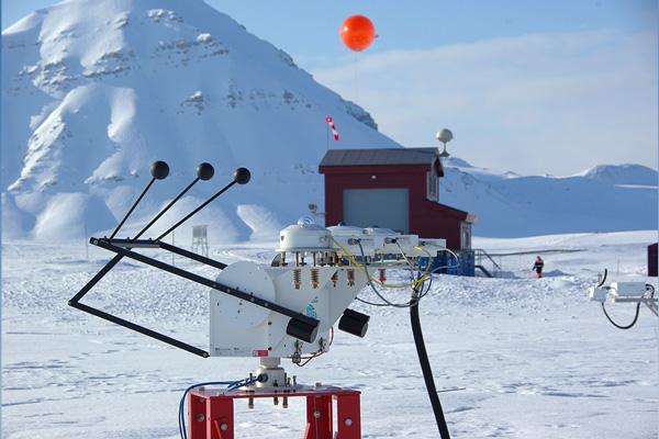 Ny-Ålesund radiation measurements at atmospheric observatory.