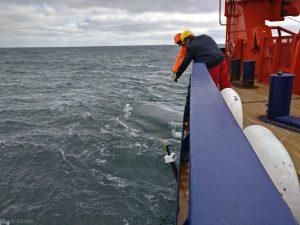 Ein Float geht zu Wasser. Foto: Ulrich Küster