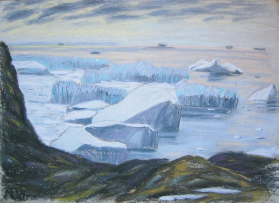 Kangia Eisfjord Grönland 2004