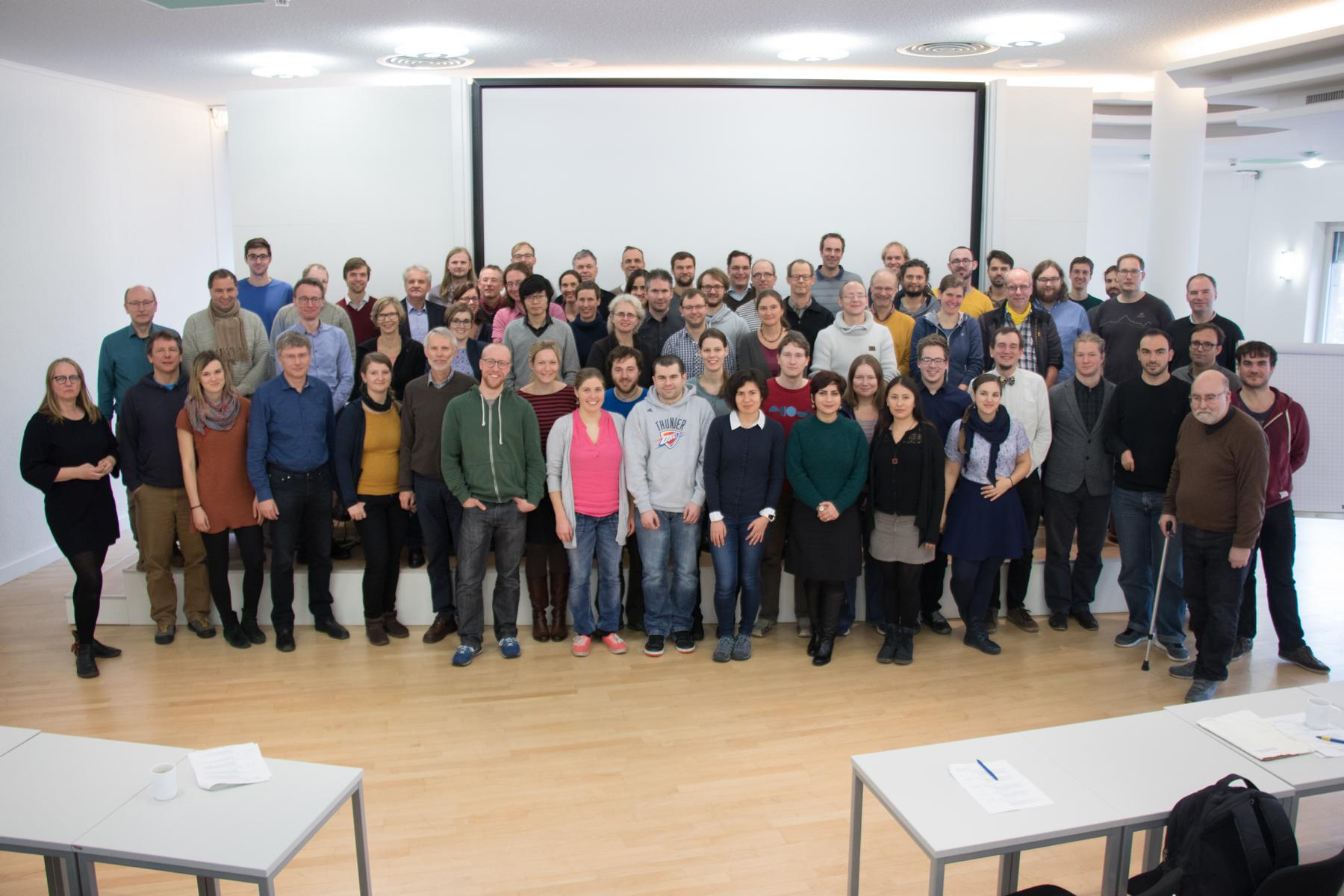 Group photo GA November 2017, Cologne.