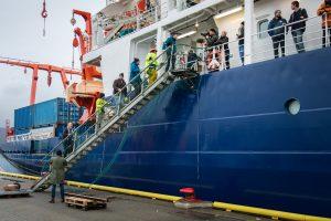 Farewell RV Polarstern MOSAiC Tromsø